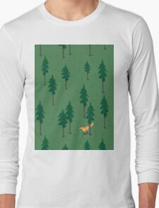 Fox in the woods. Long Sleeve T-Shirt