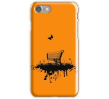 Abandoned Trolley (for light shirts and stickers) iPhone Case/Skin