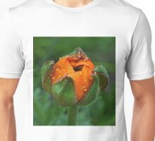 An orange bud Unisex T-Shirt