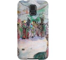 HEY WAIT UP(C2015)(ANALOG) Samsung Galaxy Case/Skin