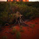 Uluru at Sunset by Keiran Lusk