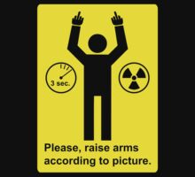 Body Scanner - Raise Arms (and fingers) by fearandclothing