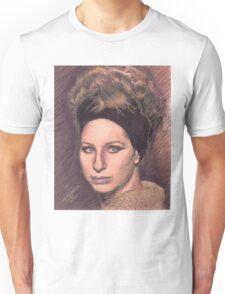 PORTRAIT OF BARBRA STREISAND Unisex T-Shirt