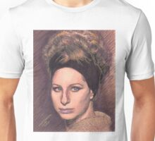 PORTRAIT OF BARBRA STREISAND Unisex T-Shirt