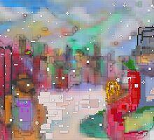 HEY WAIT UP(C2015)(LEGO - EFFECT) by Paul Romanowski