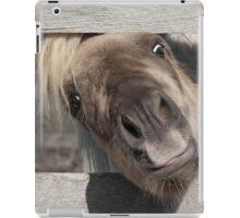 Short Pony, Tall Fence iPad Case/Skin