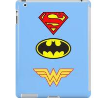Superman, Batman, Wonder Woman - The Trinity iPad Case/Skin