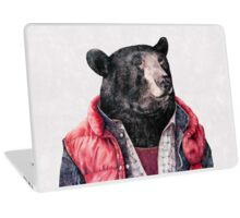 Black Bear Laptop Skin