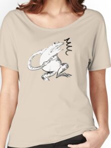 Green Frog -What? Women's Relaxed Fit T-Shirt