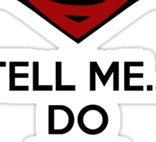 Batman v Superman - Do You Bleed Sticker