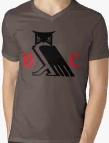 Bohemian Club - Moloch Owl - Cremation of Care Mens V-Neck T-Shirt