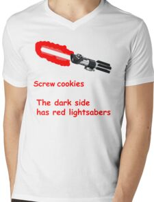 The Dark Side  Mens V-Neck T-Shirt