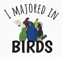 I Majored in Birds T-Shirt