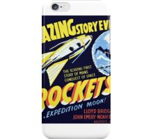 Rocketship X-M Space Age Rocketship Sci Fi Design iPhone Case/Skin