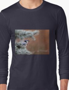 Haughty Blue Jay Long Sleeve T-Shirt