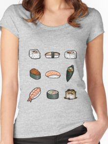 Sushi Women's Fitted Scoop T-Shirt