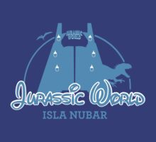 Jurassic World Disney Castle (BLUE) by zenjamin