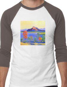 Moogerah Dam [Lake]  Men's Baseball ¾ T-Shirt