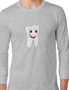 Big happy tooth Long Sleeve T-Shirt