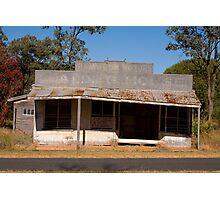 Derelict shop Photographic Print