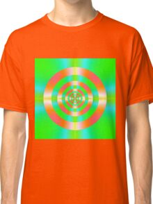 Orange Pink Green and Turquoise  Classic T-Shirt