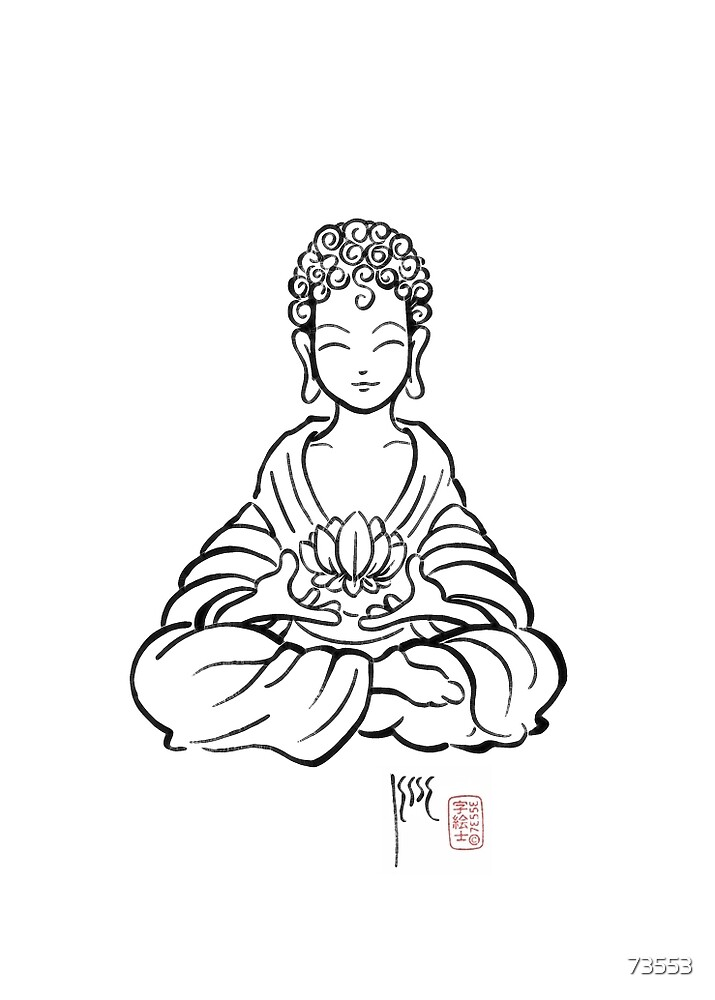 Buddha Lotus by 73553