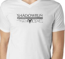Shadowrun Mens V-Neck T-Shirt