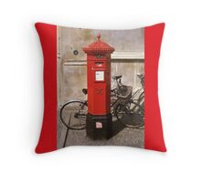 Her Majesty's Mail Throw Pillow