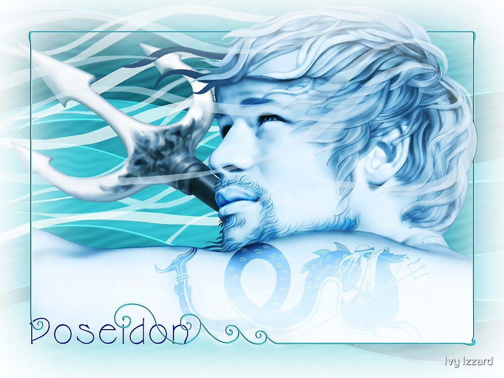 Poseidon by Ivy Izzard