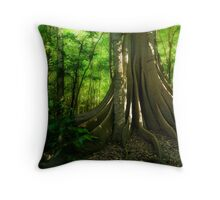 Fig Forest Throw Pillow