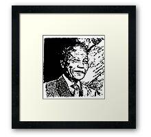 It Looks Like Madiba Framed Print
