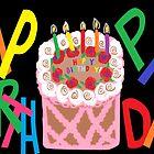 Happy Birthday Card by Jana Gilmore