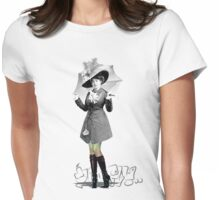 Nice Pins Womens Fitted T-Shirt