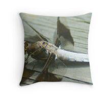 Dragon-fly Throw Pillow