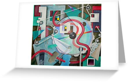 Abstract with Disc by nancy salamouny
