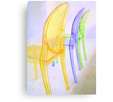 spoon chairs Canvas Print
