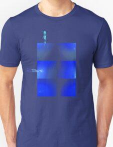 Blue armour plates Unisex T-Shirt