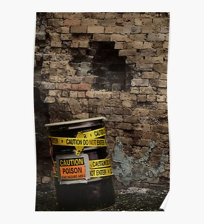 Toxic Alley Barrel 3 Poster
