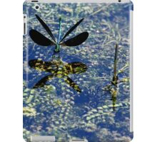 Ebony Reflection - Jewelwings iPad Case/Skin