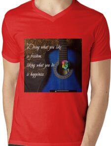 Freedom Mens V-Neck T-Shirt