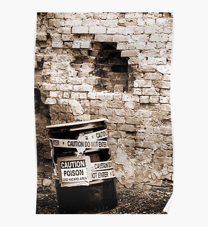 Toxic Alley Barrel 4 Poster