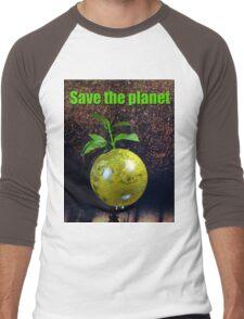 Save the planet Men's Baseball ¾ T-Shirt