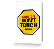 Traffic Rules Greeting Card
