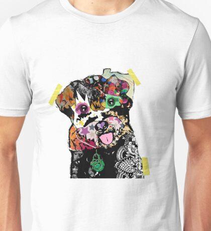 Pomapoo Mixed Media Collage Unisex T-Shirt