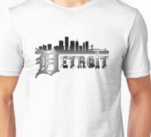 Detroit Cityscape Mens Unisex T-Shirt
