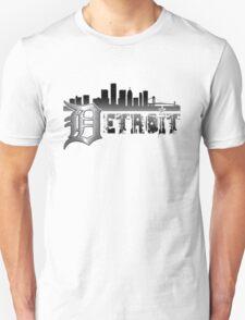 Detroit Cityscape Mens T-Shirt