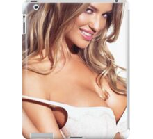 Sexy young teasing woman beauty portrait art photo print iPad Case/Skin