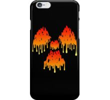 Radioactive Melt Orange iPhone Case/Skin