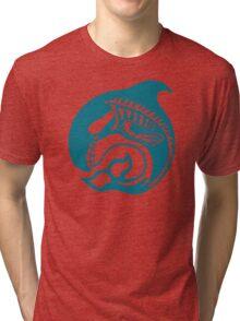 skeleorca Tri-blend T-Shirt