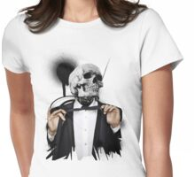 Death was well dressed. Womens Fitted T-Shirt